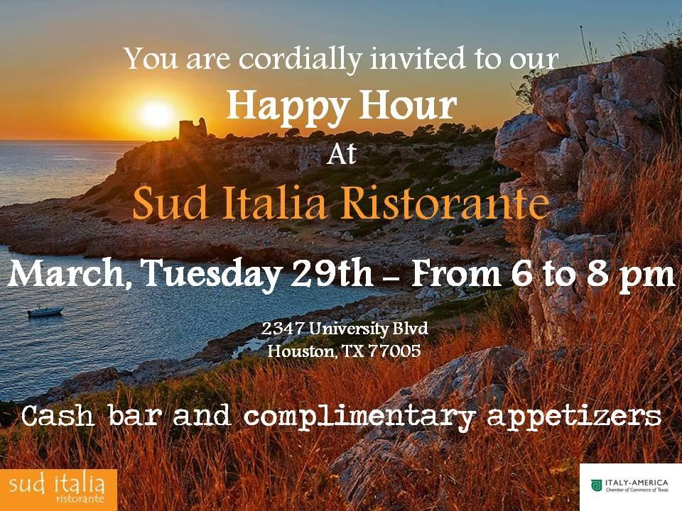 happy hour @Sud Italia